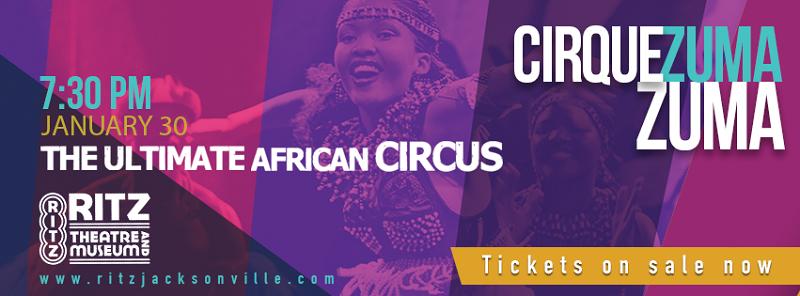 Enter to Win 4 VIP Tickets to see Cirque Zuma Zuma