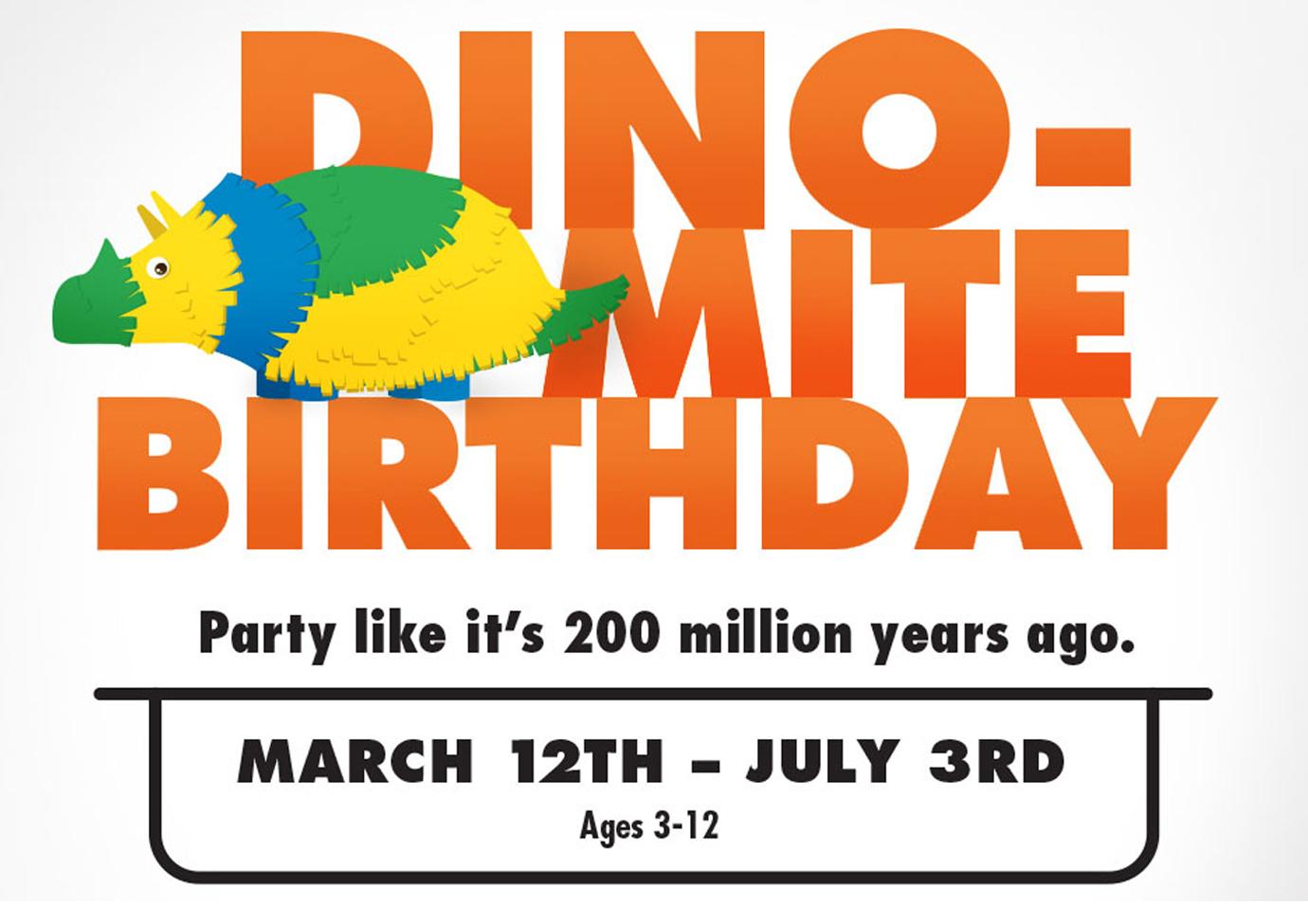 Dino-mite Birthdays at the Jacksonville Zoo