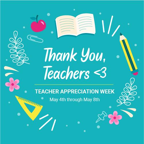 Teacher Appreciation Week from a Distance