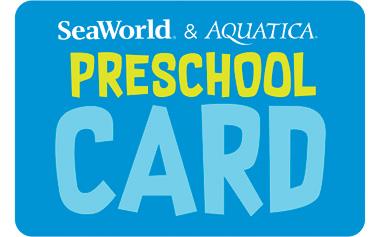 SeaWorld & Aquatica Offers Free Card for Preschoolers