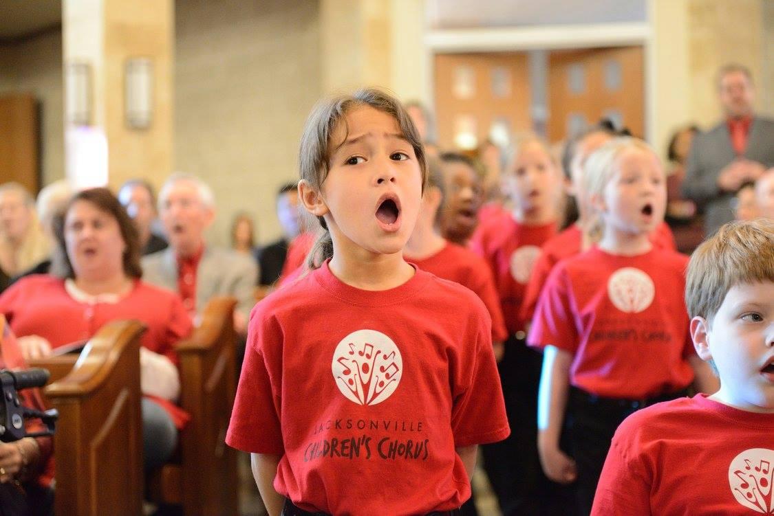 Jacksonville Children's Chorus Auditions for Spring 2018