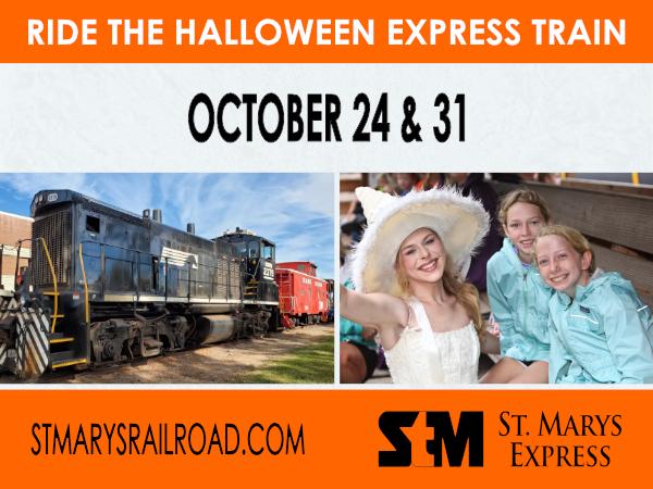 Halloween Express Train Rides