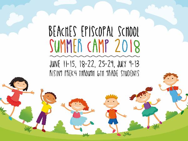 Beaches Episcopal School Summer Camp