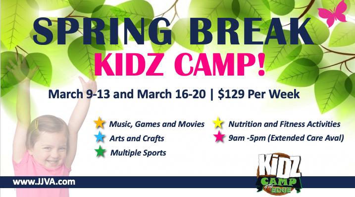 Sports Edge Spring Kidz Camp