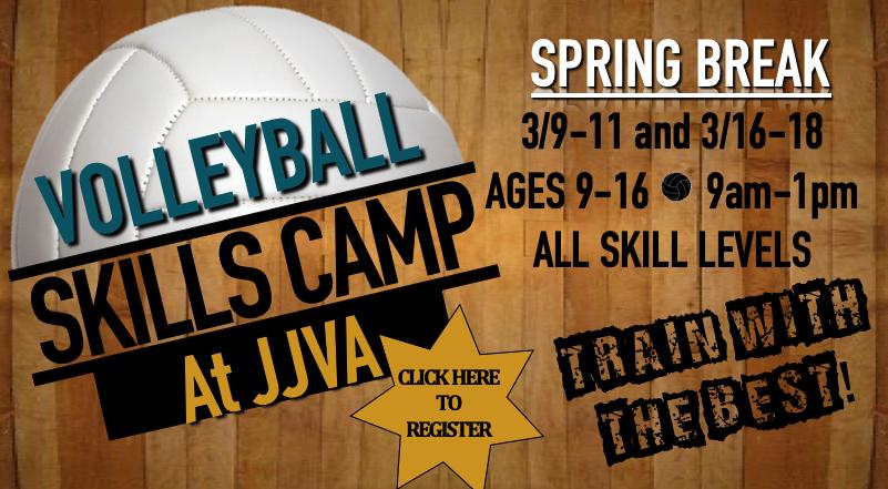 JJVA Volleyball Skills Camp