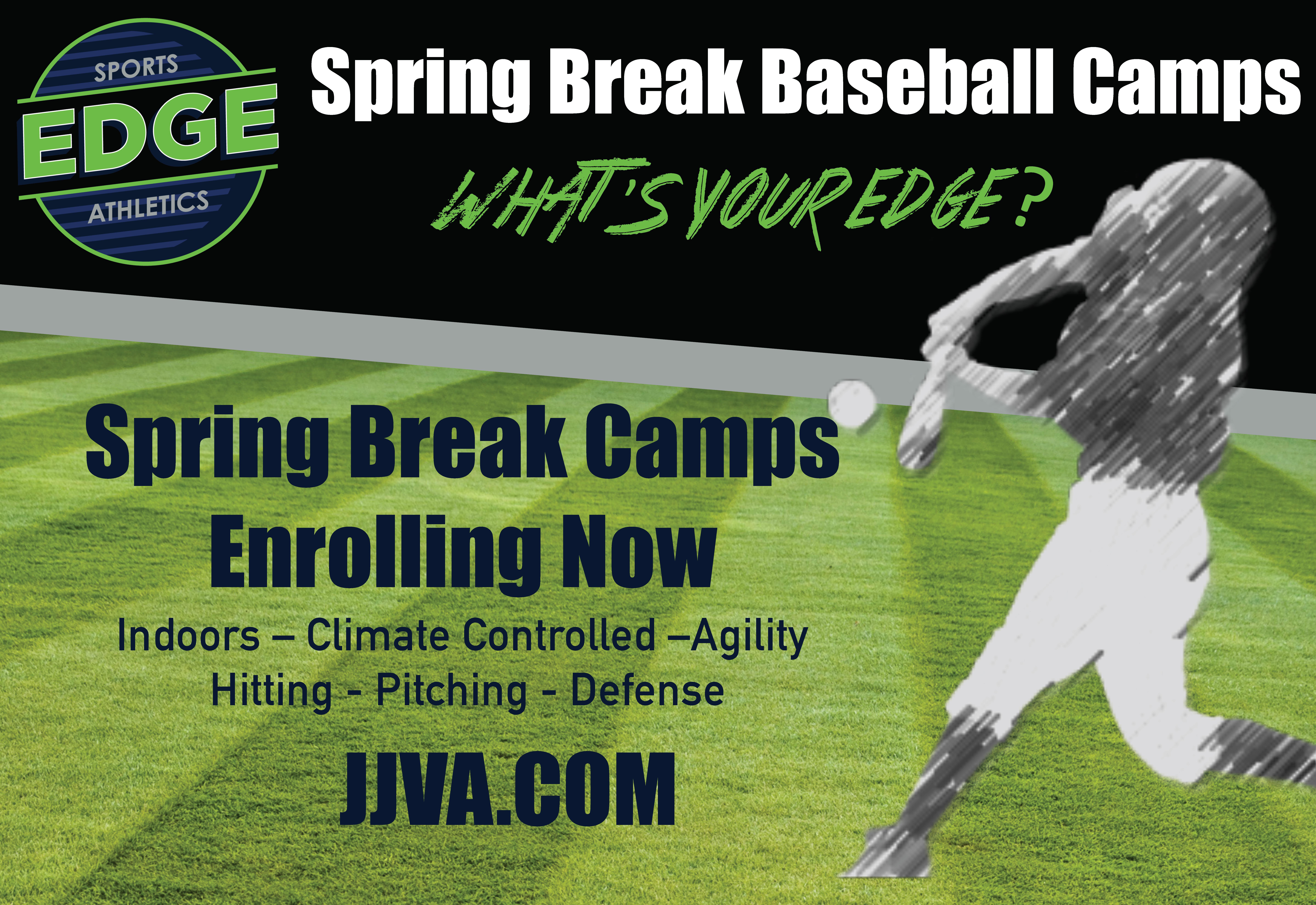 Sports Edge Baseball Camp