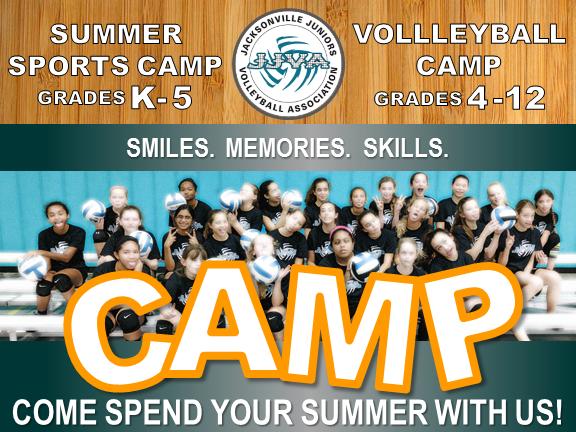 JJVA Summer Sports Camp