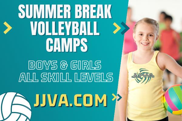 Volleyball Camps at JJVA