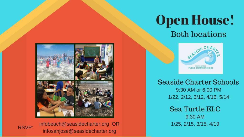 Seaside Charter School - Open House