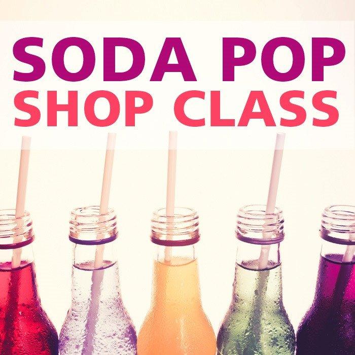 Soda Pop Shop Class