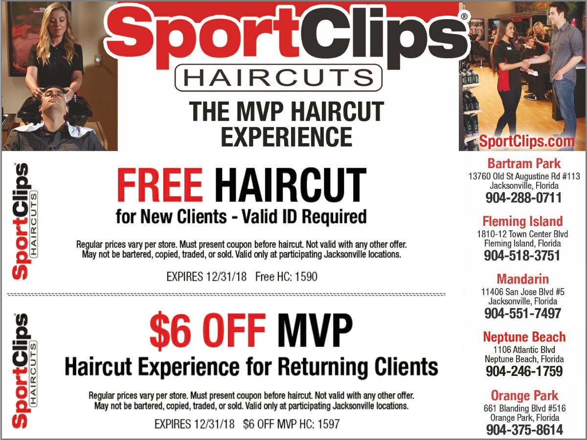 Free Haircut Or 6 Off Mvp Jax4kids