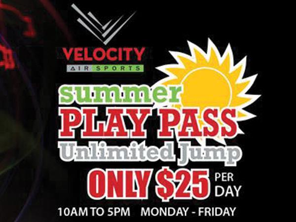 Velocity Summer Play Pass