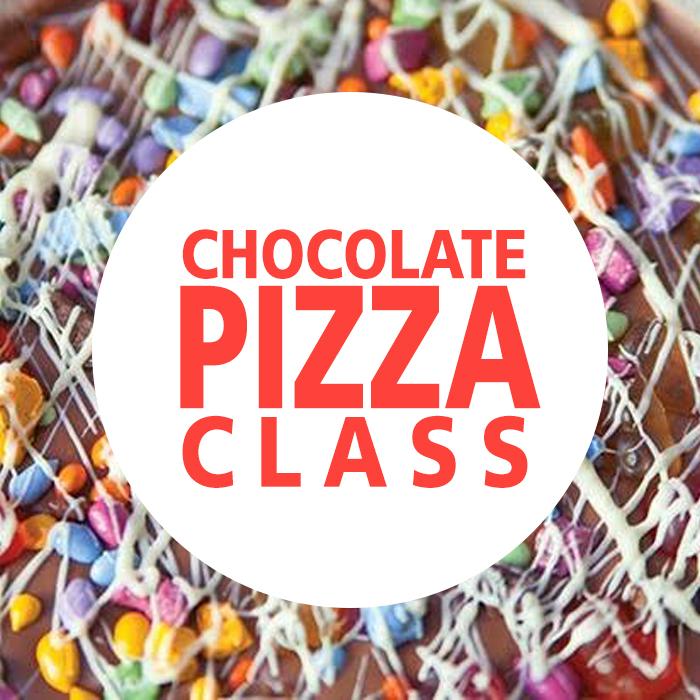 Chocolate Pizza Class